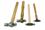 Ball Pein Hammers, Set x 4, 1oz, 2 oz, 4oz, 8oz Jewellers Tools. J1290